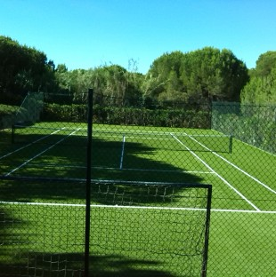 Quinta do Lago Synthetic Grass Tennis Court